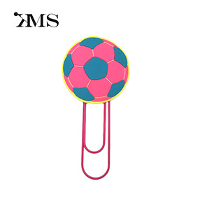 sport ball shape soft cute paper clip