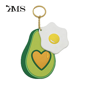 mini fruit Avocado keychain gifts toy